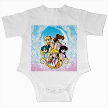 Sailor moon infant baby creeper bodysuit romper onepiece newborn jumpsuit anime - $20.00