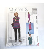 McCall's Vintage Uncut Pattern #7876 Misses' Ex-Small 4-6, Woman's Day S... - $8.99