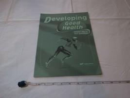 Développement Bonne Santé Réponse Clé Texte Questions Livre A Beka Home ... - $10.68