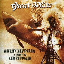 Great White - Led Zeppelin Tribute Album Cover Poster | 24X24 Inches | - $18.99