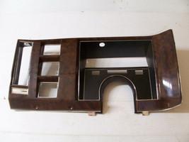 BROUGHAM DASH TRIM PANEL INSTRUMENT SPEEDOMETER CADILLAC FLEETWOOD 1987 ... - $137.61