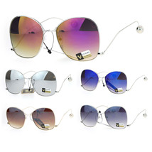 Womens Drop Temple Swan Arm Thin Metal Butterfly Sunglasses - $16.94 CAD