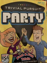 Trivial Pursuit Party (Hasbro) Brand New, Fast & Fun Trivia - $7.99