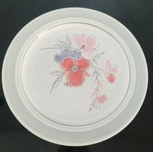 """Galleria Collection Stoneware 10 1/2"""" DINNER Plate small chip - $6.94"""