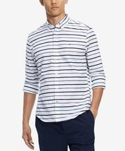 Tommy Hilfiger Men's Logan Custom- Fit Stripe Shirt Size 2XL - $32.82
