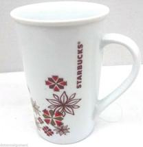 Starbucks 2013 Holiday Christmas Promo Advertising Tall Coffee Tea Mug 1... - $6.85