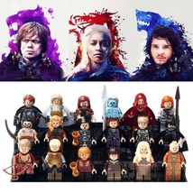 18pcs Game of thrones Jon Snow White Walker Lego Minifigure Toys Set - $32.00