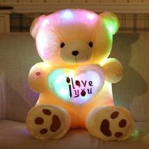 Teddy Bear LED Big Plush Toy Light Animal Colorful Stuffed Glowing Gift ... - $19.59