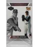 2007 Topps Baseball Co-Signers #99 Ubaldo Jimenez RC ROOKIE Rockies - $3.95