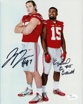 Joey Bosa Ezekiel Elliott Signed Photo 8X10 Rp Autographed Ohio State Buckeyes - $19.99