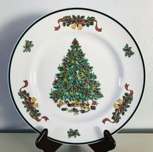 "Victorian Christmas Dinner Plate Johnson Brothers Holiday Dinnerware 10-1/4"" - $19.34"