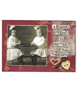 ACEO ATC Art Card Collage Women Girls Original Good Friend Better Than T... - $5.00