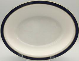 "Spode Consul Cobalt Y7332 Oval vegetable bowl 9 ""  - $80.00"