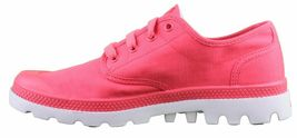 Palladium Pampa Oxford Lite Pink Gray Shoes Dri-Lex Sweat Control Breathability image 4