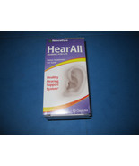 NaturalCare HearAll Supports Optimal Hearing Function 60 Capsules Good T... - $22.53