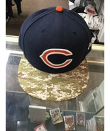 NWOT Chicago Bears New Era Salute To Service Hat Cap Size 8 New Without ... - $49.49