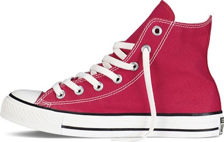 Converse Chuck Taylor All Star High Top Sneakers in Red $60 NEW canvas shoes