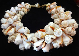 Paris fashion week choker Shell Necklace Trendy Women Fashion Tribal Pap... - $199.33