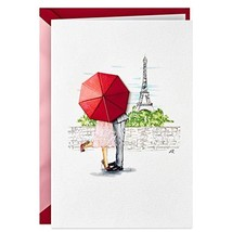 Hallmark Signature Valentines Day Card for Significant Other Paris - $10.14