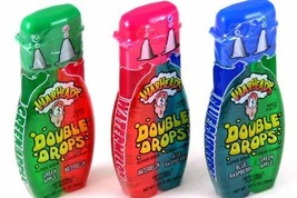 Warheads Super Sour Double Drops Liquid Candy 1.01 Fluid Ounce Bottles (Pack of  - $30.47