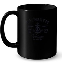 1927 Vintage Anchor Birthday 91st Birthday Gift Coffee Mug - $13.99+