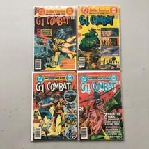 Lot of 4 GI Combat (1952) #201 226 252 253 - $23.76
