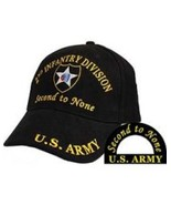 2nd Infantry Division Ball Caps for Vets - $18.99