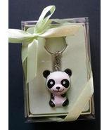 PANDA BEAR KEY CHAIN Key Ring Keychain Gift Box NEW - $7.99