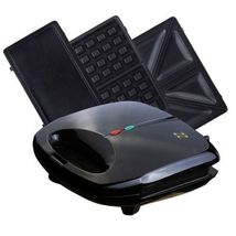 ZZ 3 in 1 Sandwich Waffle and Breakfast Maker with 3 Non-stick Plates, S... - €34,49 EUR