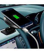 2In1 Qi Wireless Charger Dock Car Suction Cup Holder Mount Fr iPhone 8 P... - $11.47