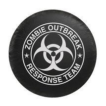 Spare Tire Covers For Jeep Wrangler, Universal Fit Zombie Spare Tire Cov... - $33.99