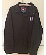 Polar Graphics USA Men's Black Nylon Windbreaker Emblem Of Penguin South... - $21.04