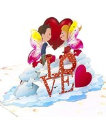 Paper Love Fairy Love Pop Up Card, 3D Popup Greeting Cards, For Valentin... - $11.31