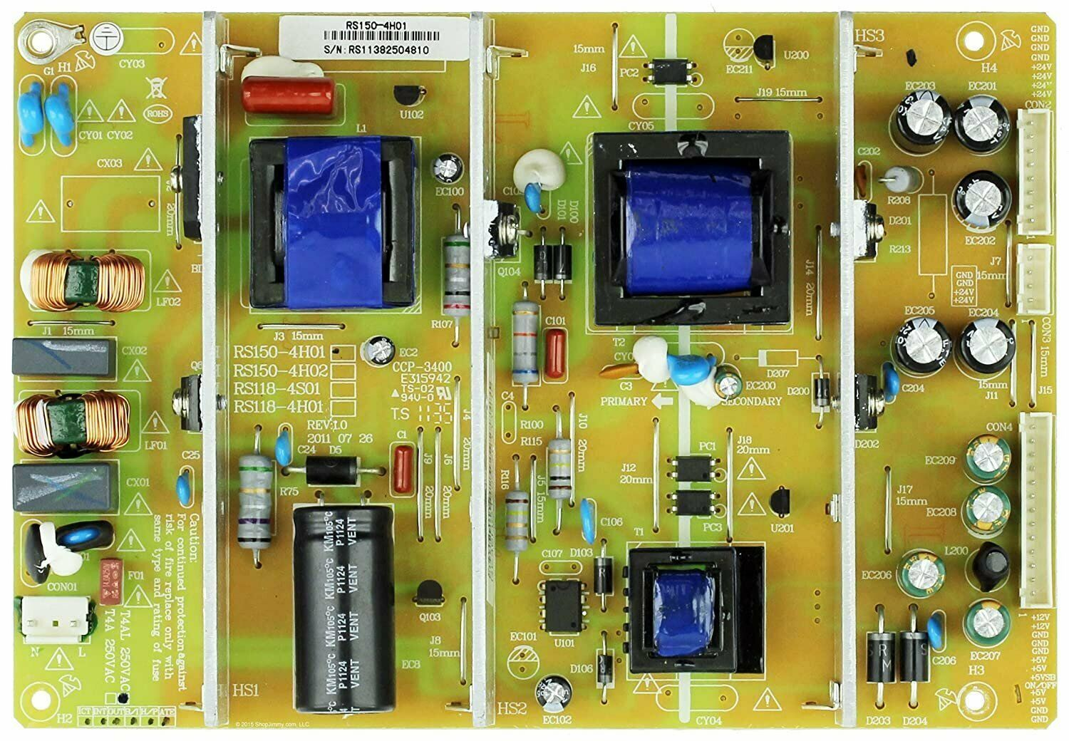 Primary image for RCA 32LA45RQ Power Supply Board- RE46HQ1500
