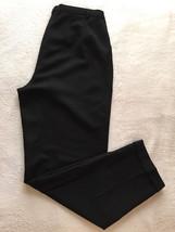 Ann Taylor LOFT Women Career Office Black Wool Dress Trouser Slacks Pants Size 8 - $24.99