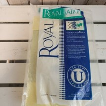 Opened Royal Type U Vacuum Bags 5-Pack  Royal-Aire Free Shipping - $11.88