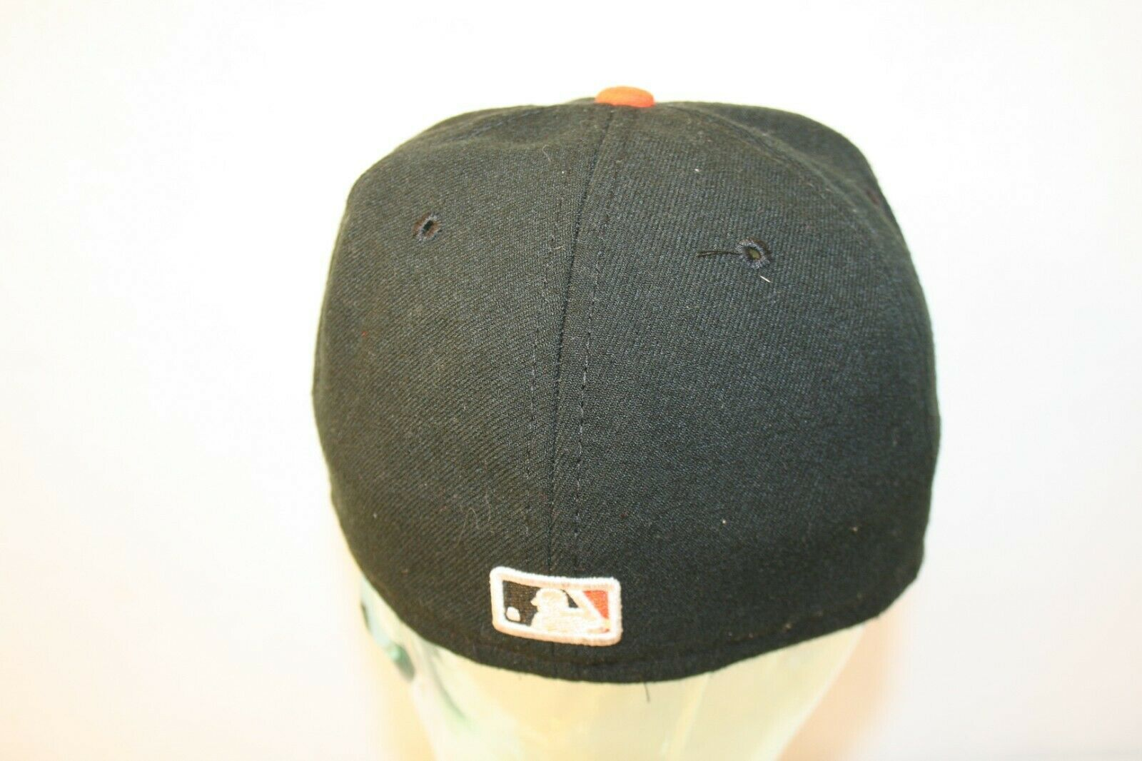 New Ear 59fifty Baltimore Orioles O's fitted 7 1/4 Black Orange bill Dad Cap Hat image 3