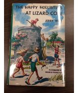 1 Vintage Happy Hollisters at Lizard Cove Jerry West Children's Mystery ... - $8.99