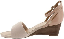 Franco Sarto Ankle Strap Wedge Sandals Dierdra Blush 7.5M NEW A306946 - $77.20