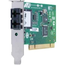 Allied Telesis 100Mbps Fast Ethernet Dual Fiber Network Interface Card -... - $42.59