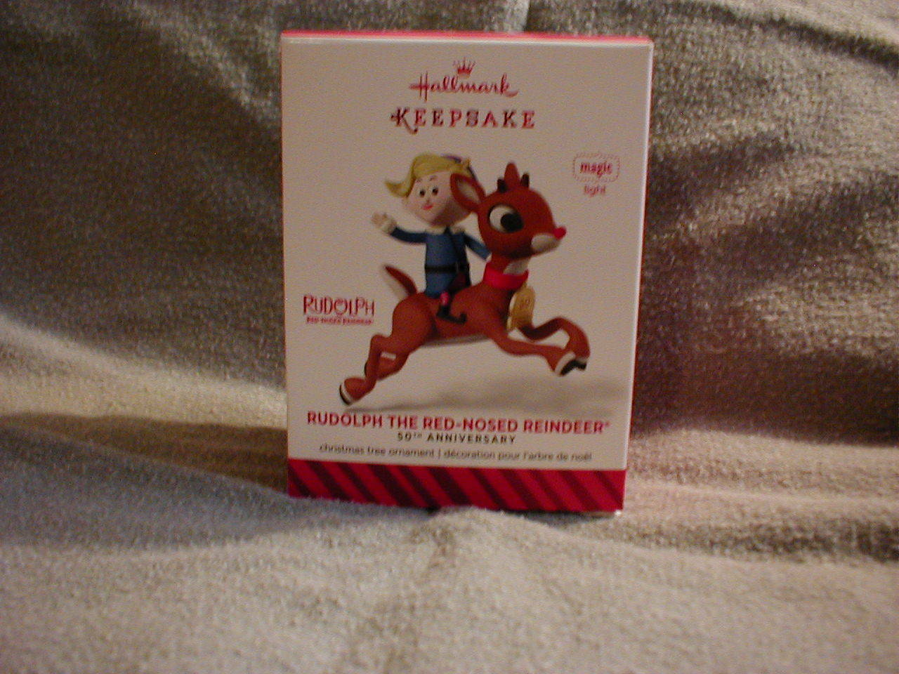 Hallmark - Rudolph The Red Nosed Reindeer - 50th Anniversary Ornament