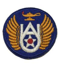 Original Wwii U.S. Army Air Force Air University Color Cut Edge Patch WW2 - $12.19