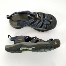 Keen Hiking Sandals Womens 7 Trail Outdoors Waterproof Blue Gray Black - $30.38