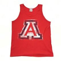 VINTAGE Sportex Arizona Wildcats Tank Top Size Medium M Red UofA Top USA... - $23.53