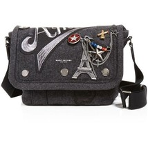 Marc Jacobs 'Small Amour Messenger' Bag in Gray Flannel $550.00 - $275.22