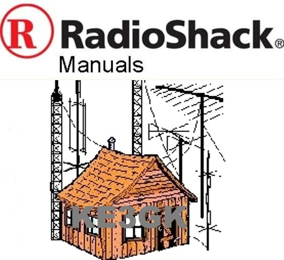 200 Radio Shack and Realistic Service and Instruction Manuals Library CDROM