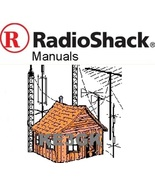 200 Radio Shack and Realistic Service and Instruction Manuals Library CDROM - $12.00