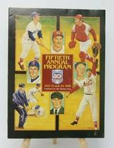 1989 Hall of Fame Fiftieth Annual Baseball Program - $5.90