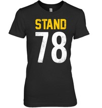 National Patriotic Anthem Football Jersey Shirt Stand 78 Tee - $19.99+