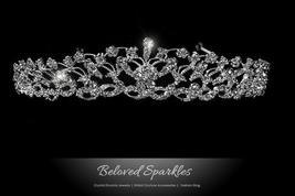 Cassia Filigree Floral Tiara | Swarovski Crystal - $65.95